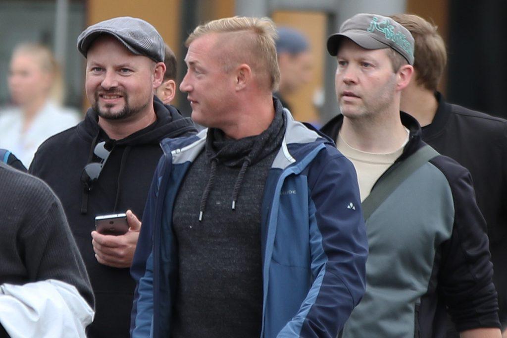 Markus Hartmann (links) und Stephan Ernst (rechts) in Chemnitz 2018 Bild: EXIF Recherche