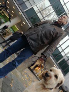 Manfred Mattis 2020 auf der rassistischen Kundgebung von Michael Stürzenberger