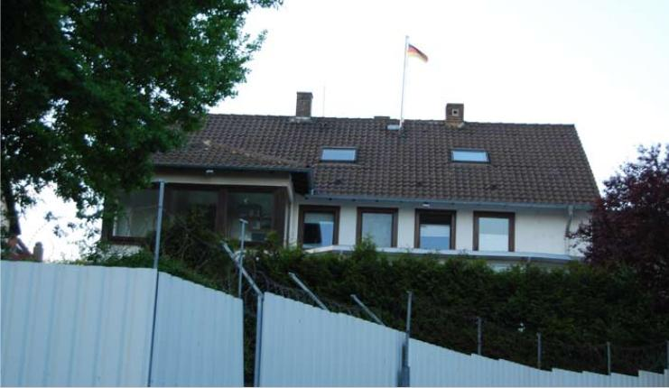 Burschenschaft Germania Kassel, Wolfsangerstraße 98